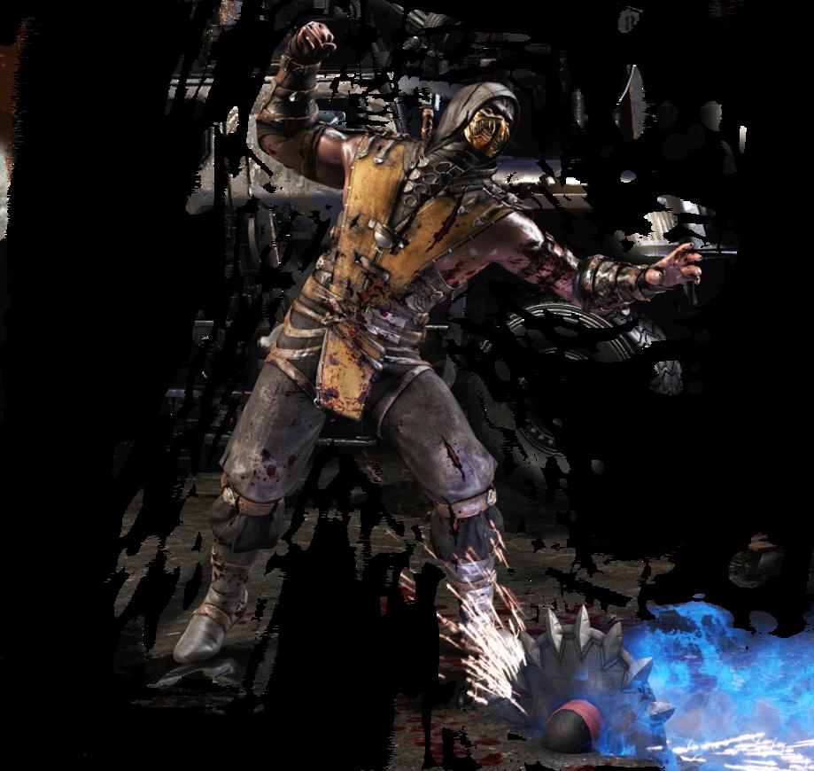 MKX Scorpion render by barrymk100 919x870