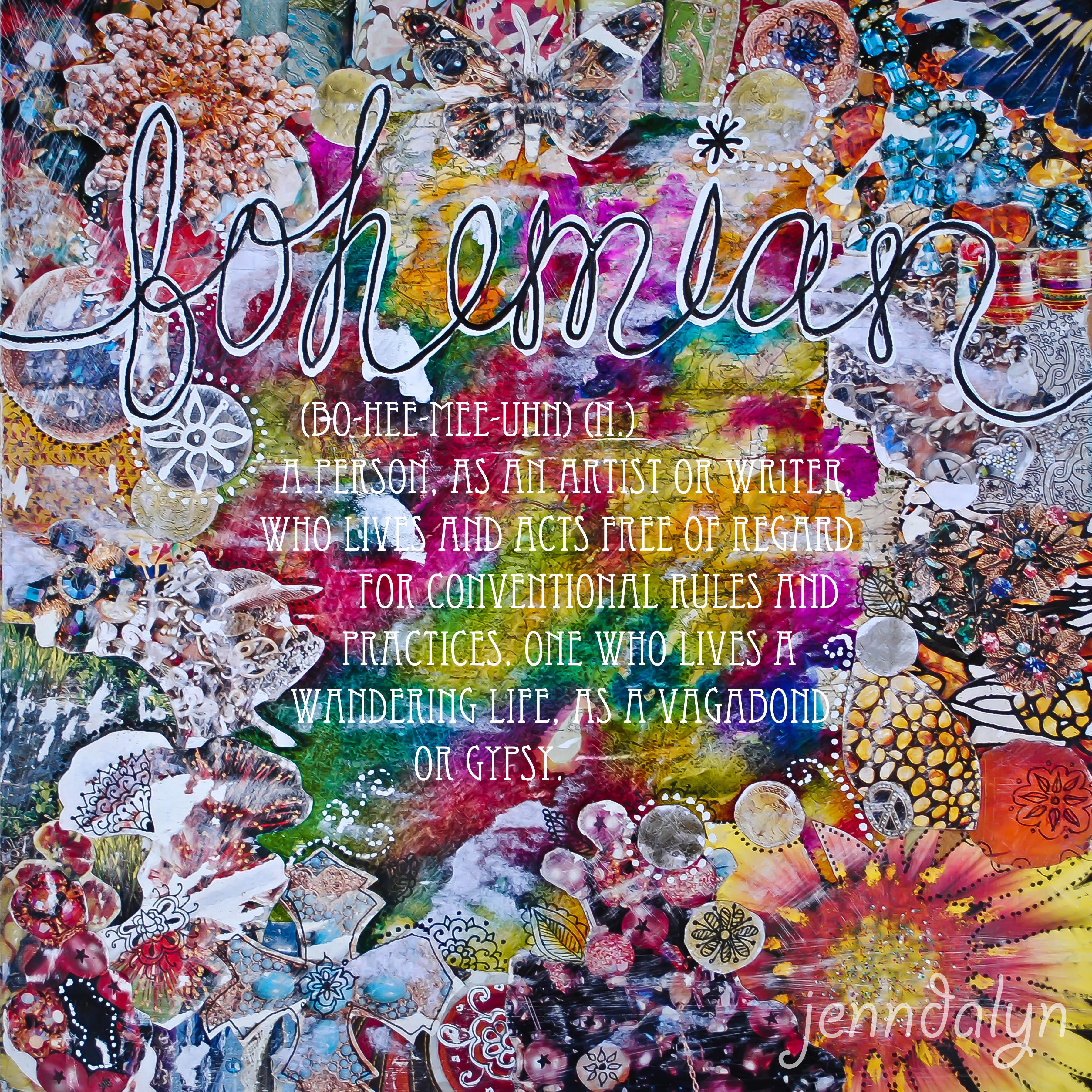Jenndalyn Art The Bohemian Life 3600x3600