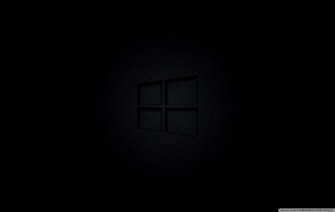 Ultra Hd Black Wallpaper Windows 10 1164x736