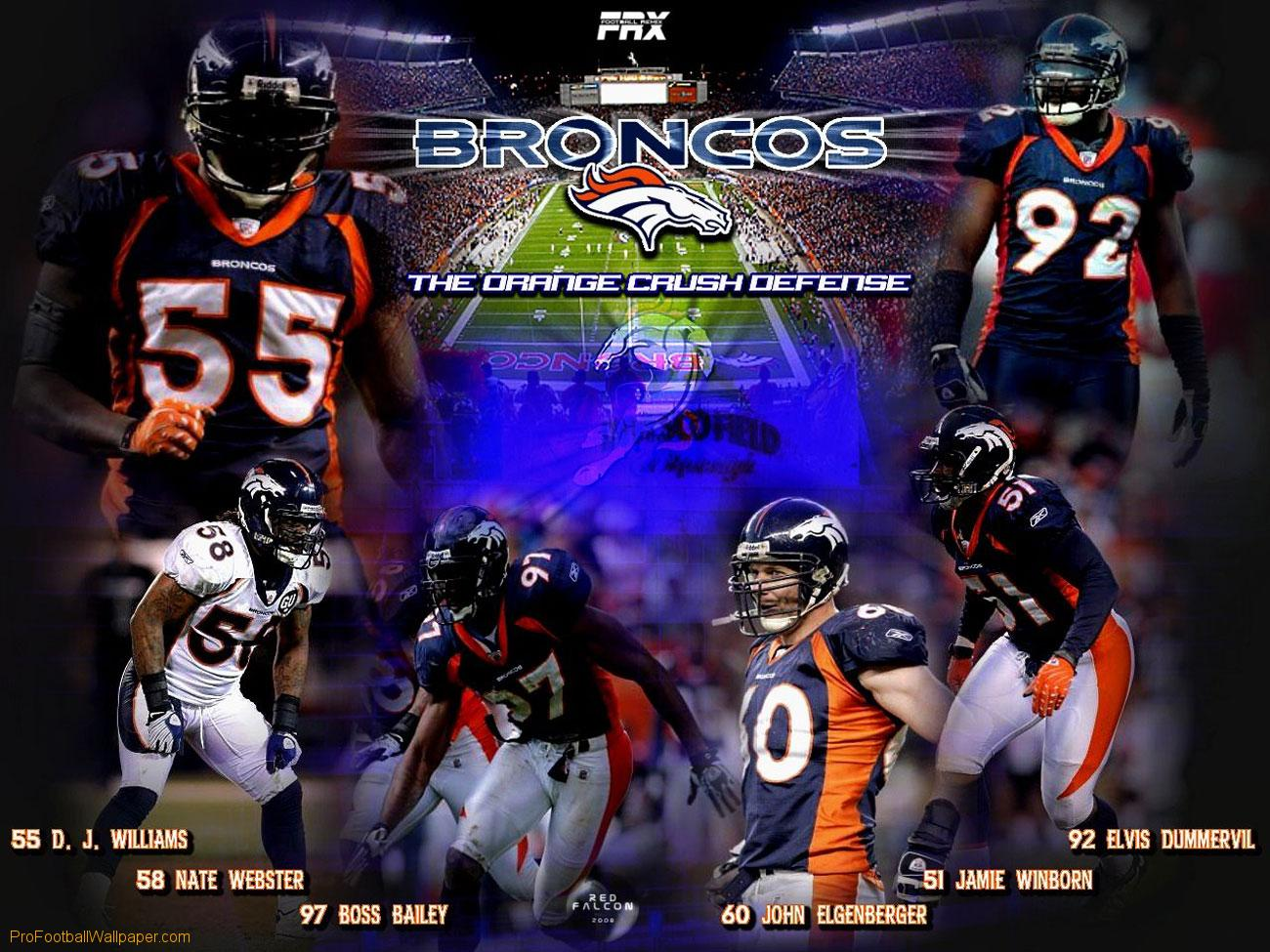 profootballwallpapercomwallpaperBroncos Orange Crush Defense 1300x975