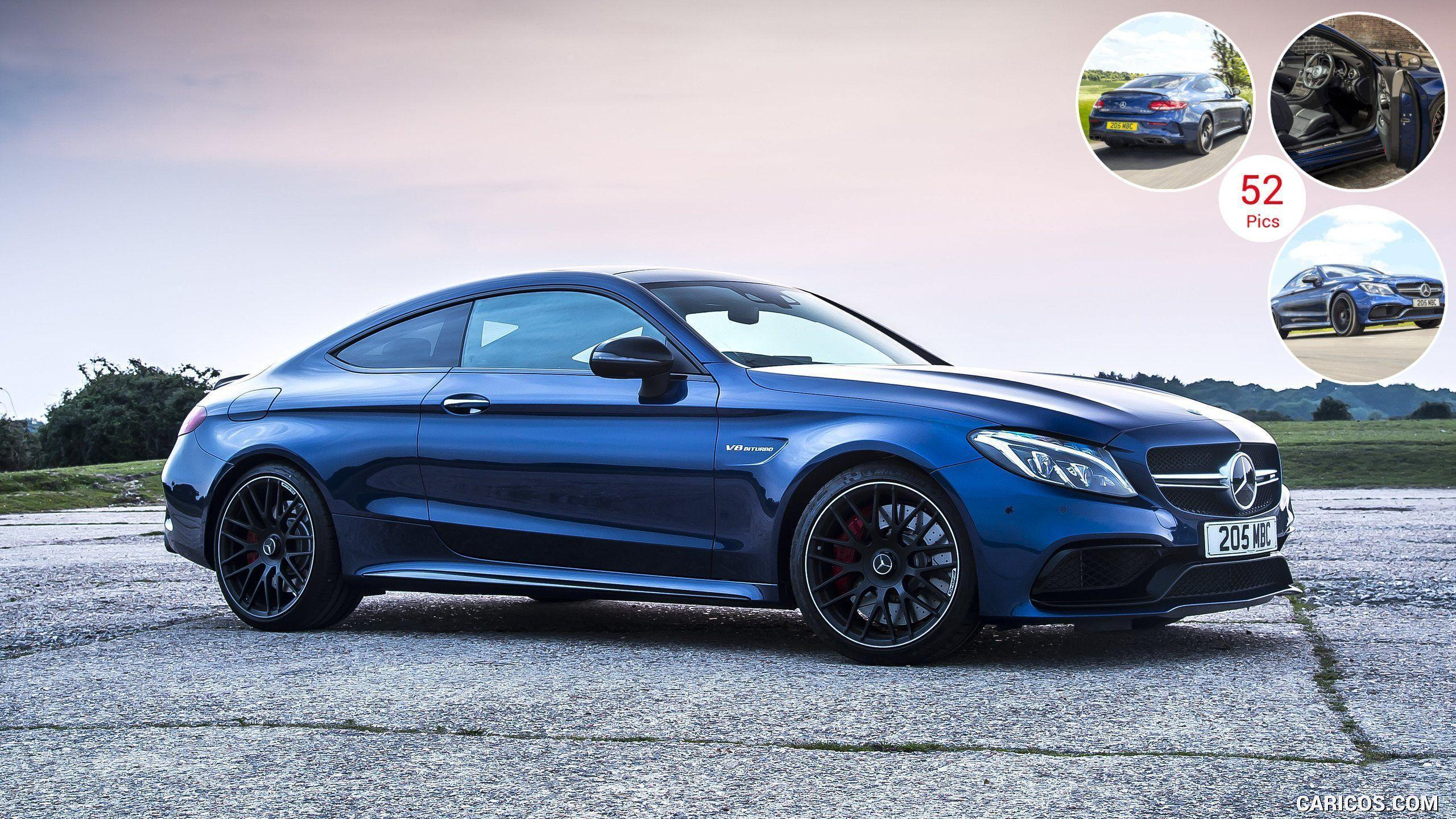 Mercedes AMG C63 S Coupe Wallpapers 2560x1440