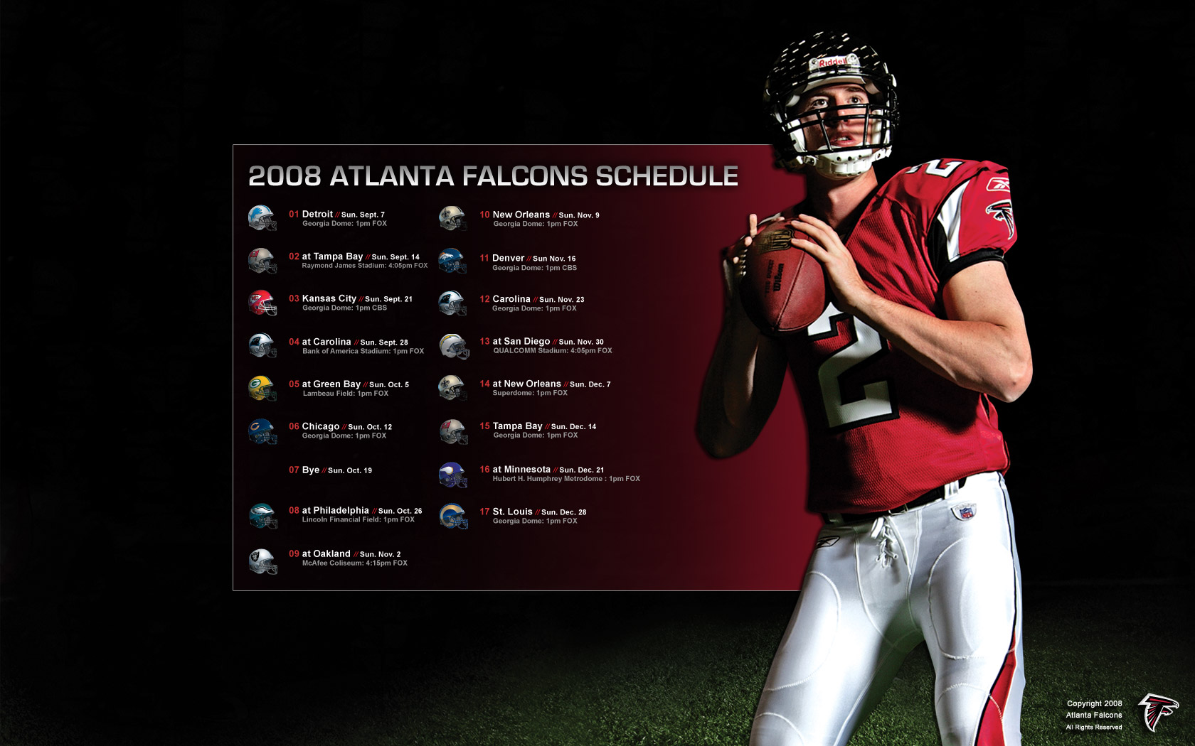 Atlanta Falcons Schedule Wallpaper 2017 2018 Best Cars