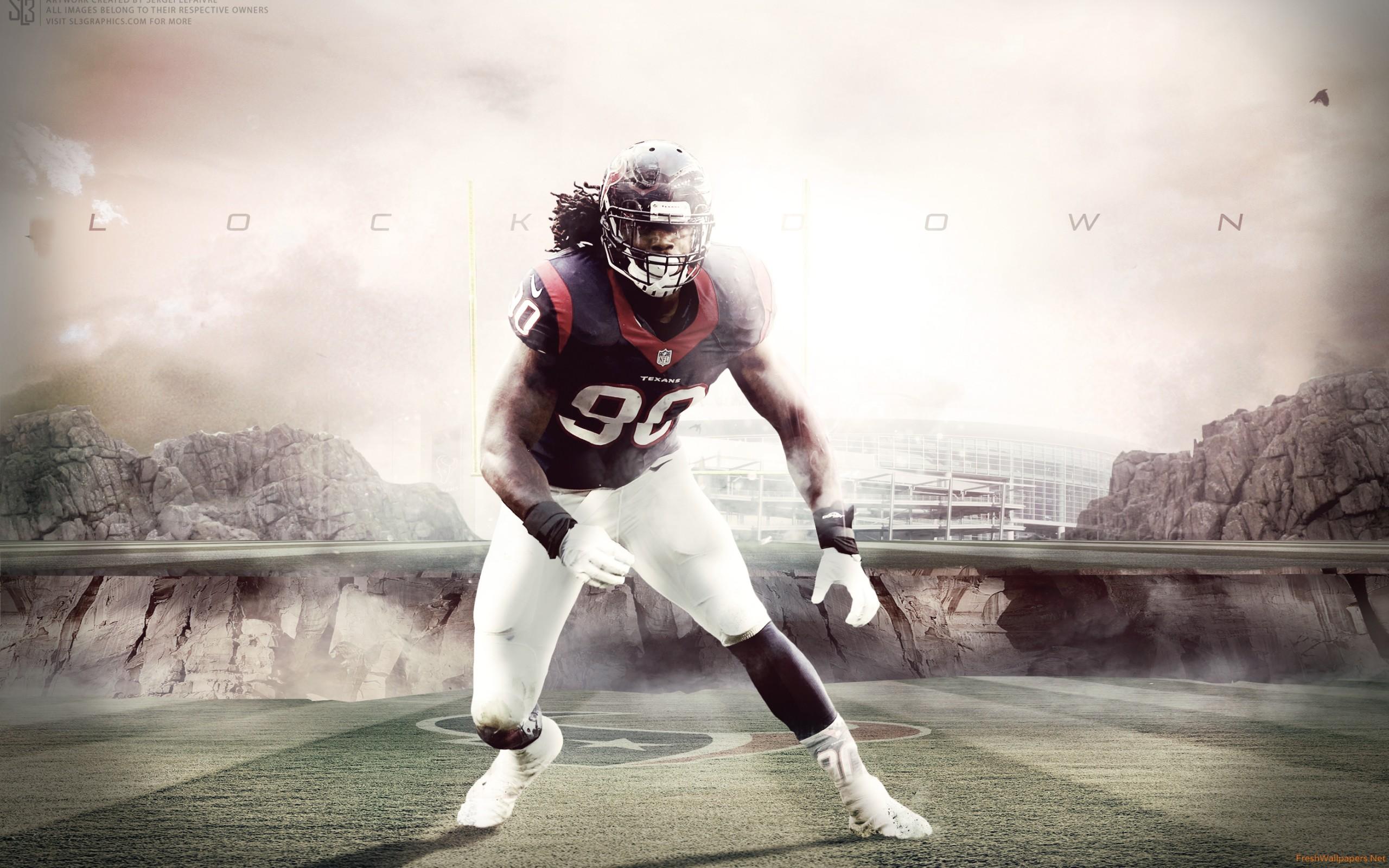 Jadeveon Clowney 2015 Houston Texans NFL wallpapers Freshwallpapers 2560x1600