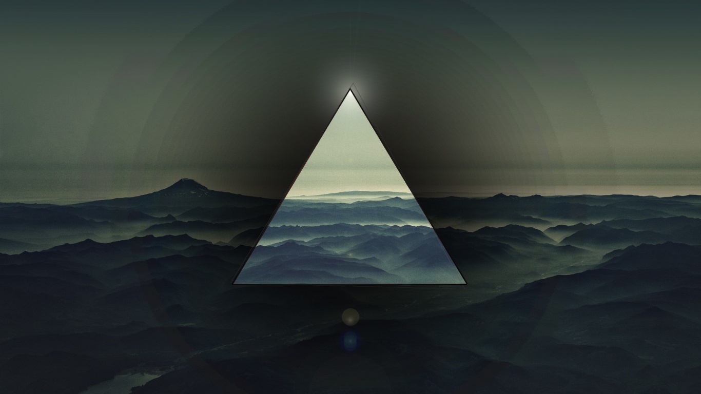 1366x768 Triangle Light Dark Wallpaper Background laptop 1366x768 1366x768