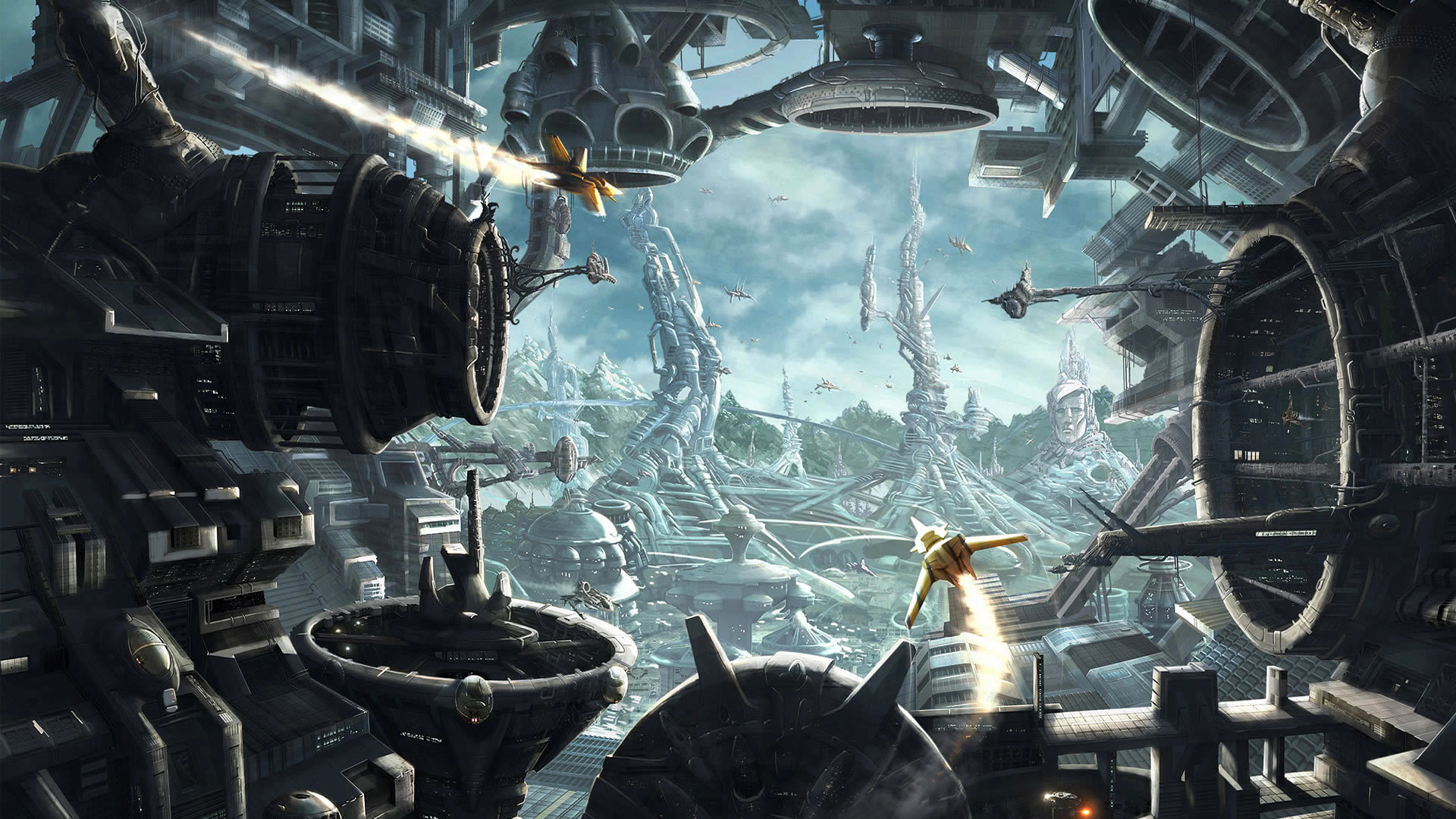 47 Retro Sci Fi Wallpaper On Wallpapersafari
