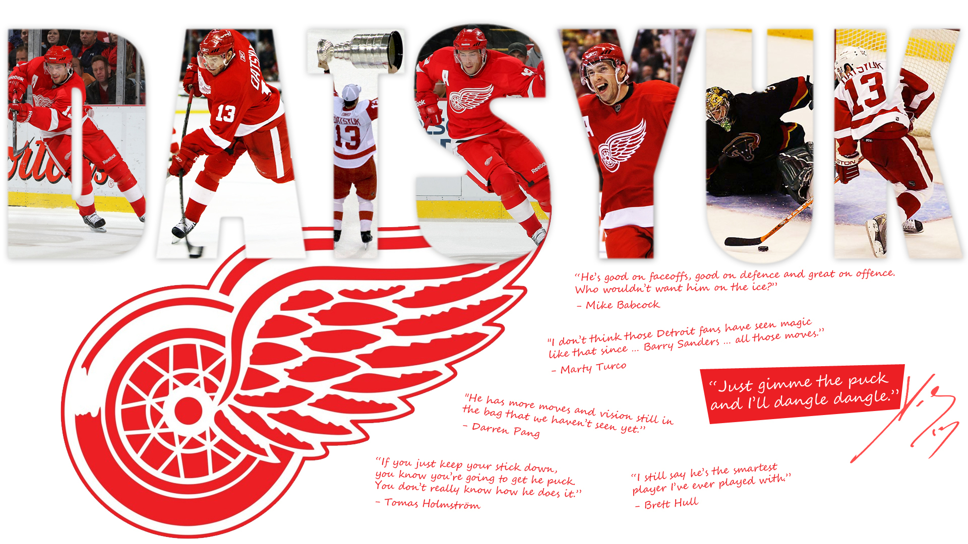 Detroit Pavel Datsyuk wallpapers and images   wallpapers pictures 1920x1080