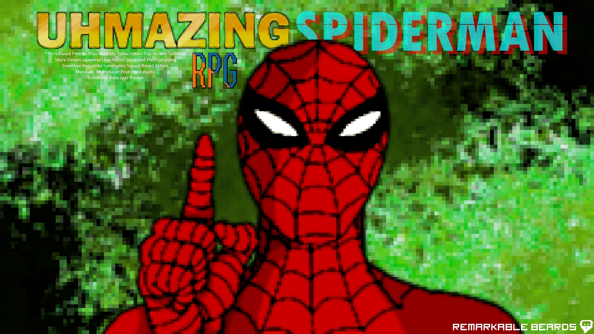 The Uhmazing Spiderman RPG 1080p wallpaper by Confederacy1234 on 1920x1080