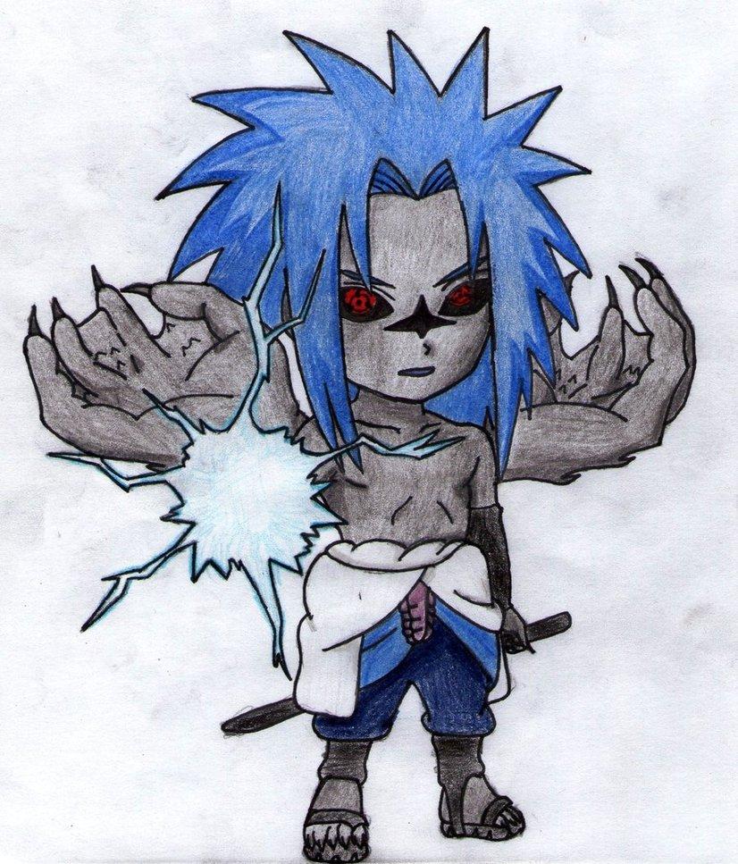 Sasuke Curse mark 2 chib by thesexychurro 826x967