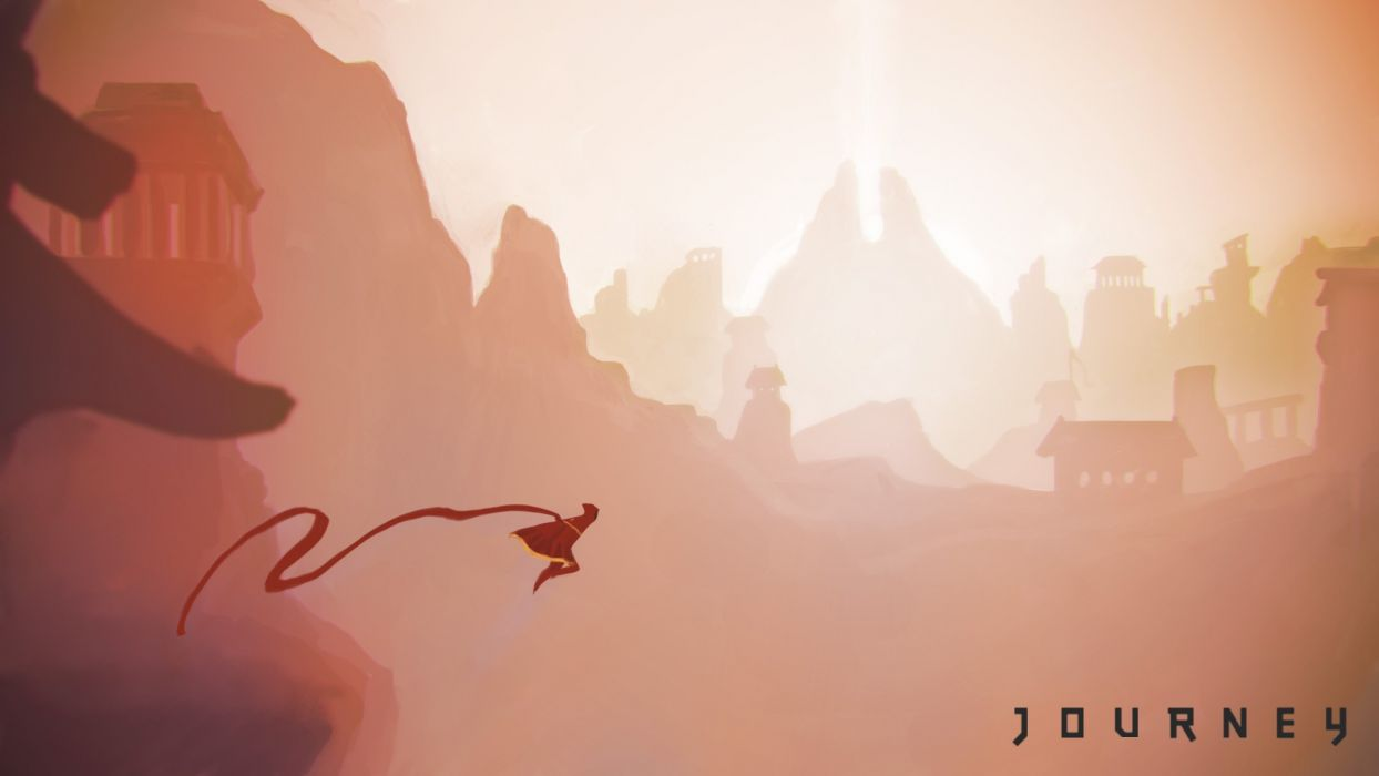 Fan art Journey Video Game wallpaper 1920x1080 231581 1244x700
