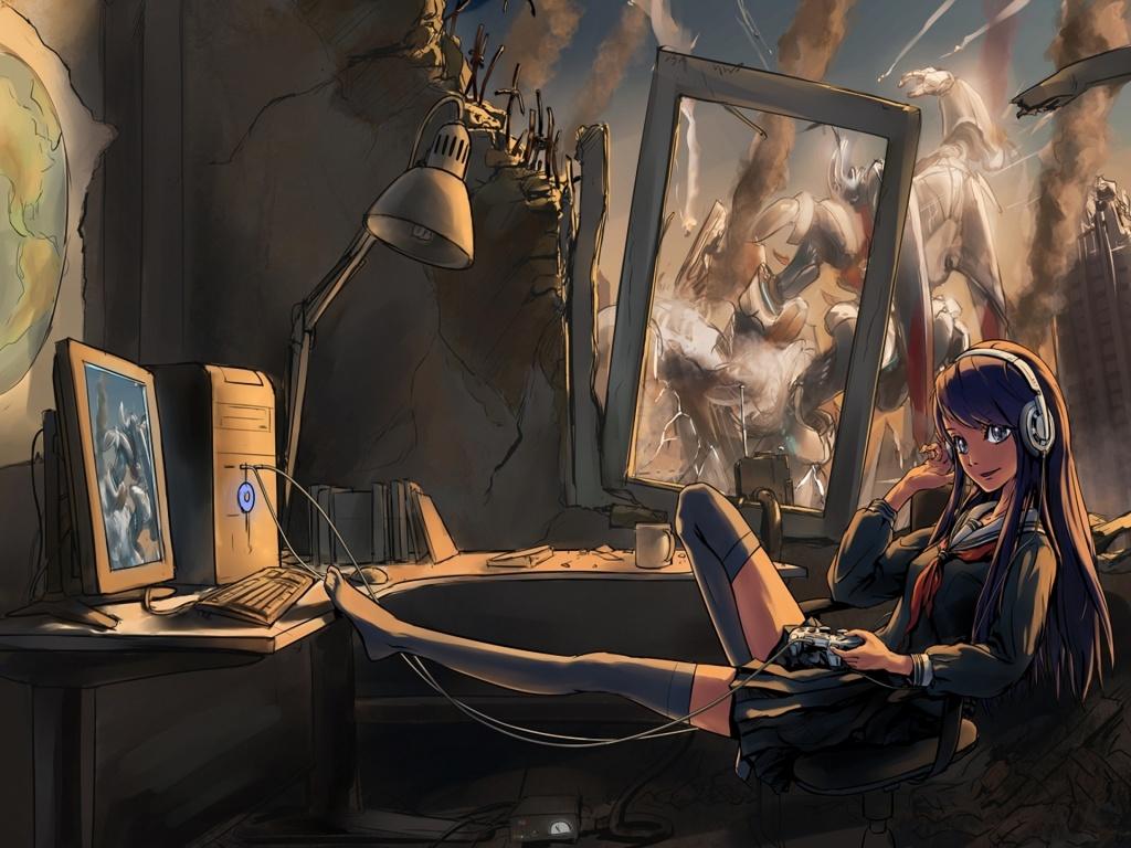 girl gamer image   Mod DB 1024x768