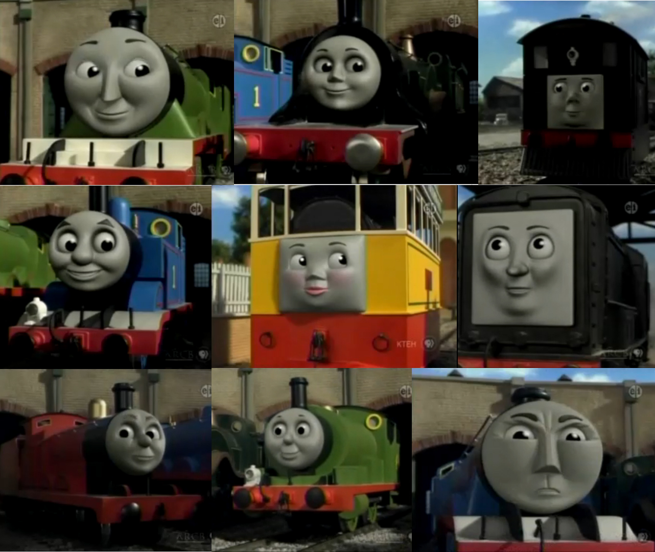 Thomas And Friends Thomas Wallpaper 1282x1080