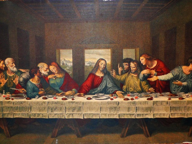 The Last Supper Wallpaper 150   Wallpaperesque 640x480
