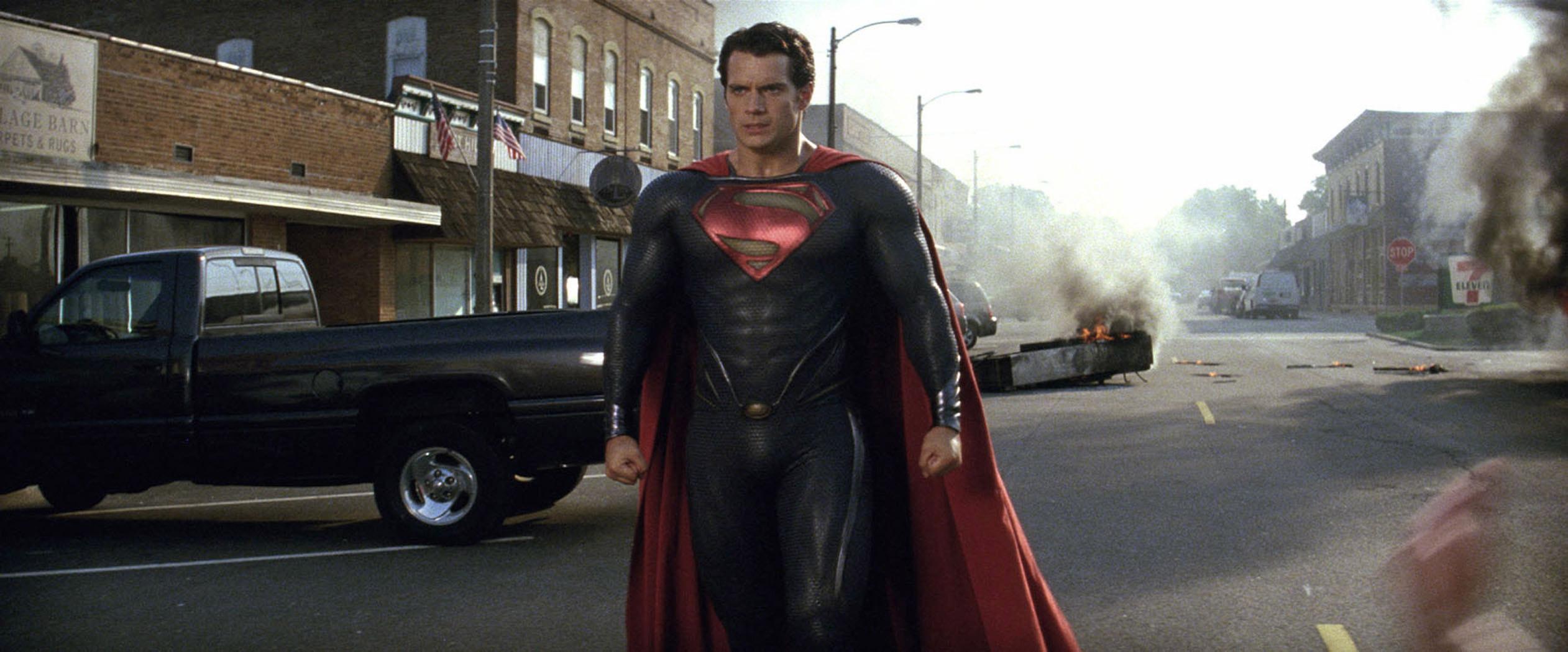 Superman Man of Steel 2013 Movie Wallpapers HD 2523x1050