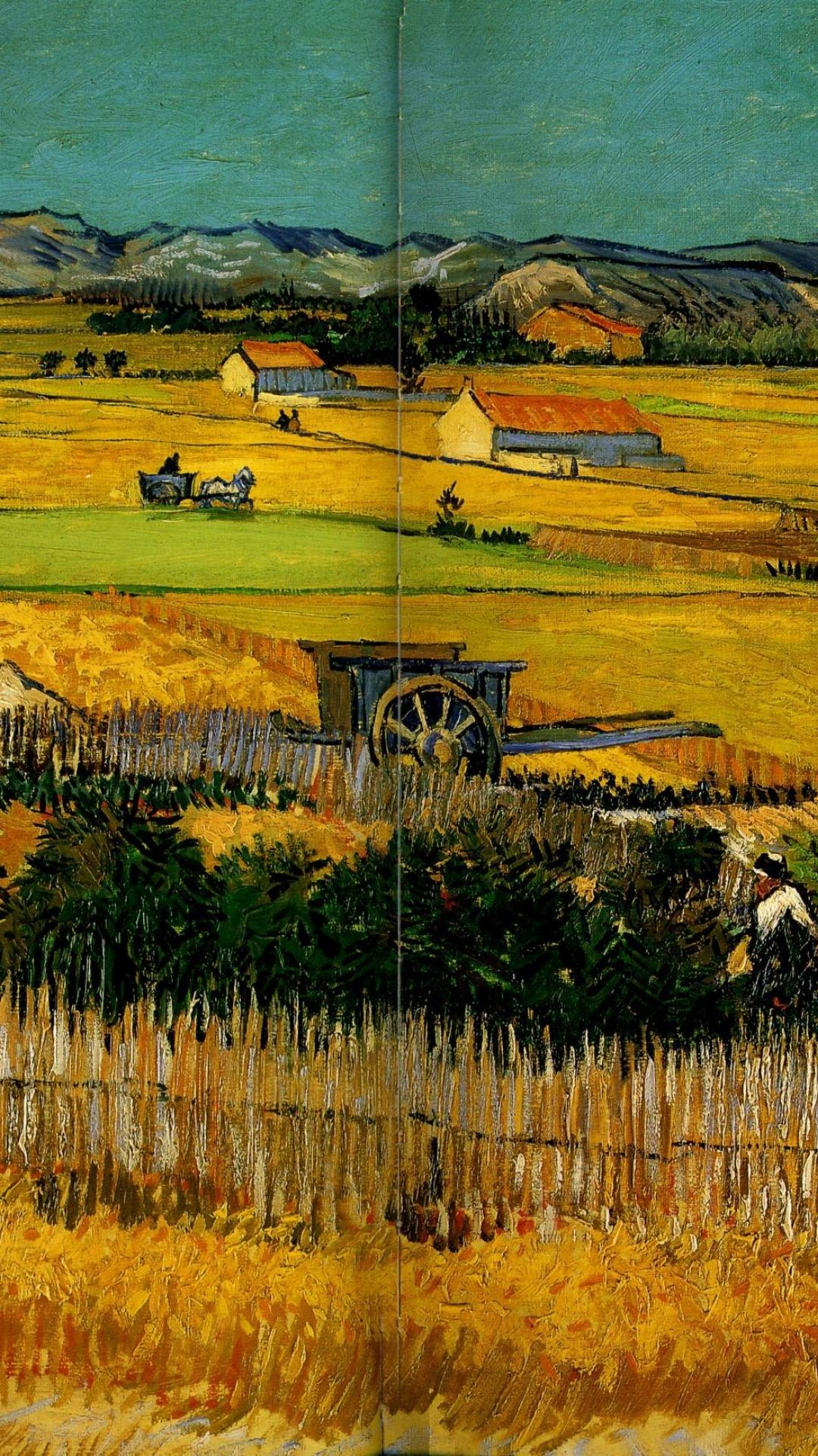 Paintings vincent van gogh wallpaper 72967 1080x1920
