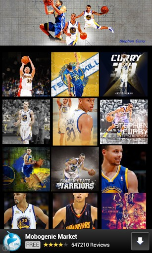 View bigger   Stephen Curry Wallpaper for Android screenshot 307x512