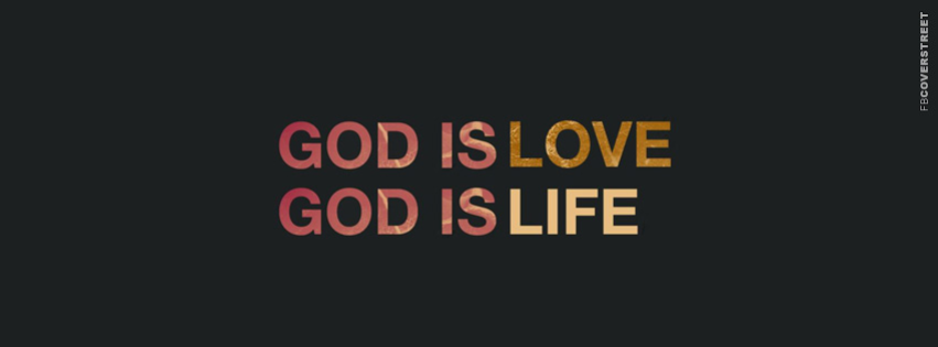 God Is Love God Is Life Wallpaper 851x315