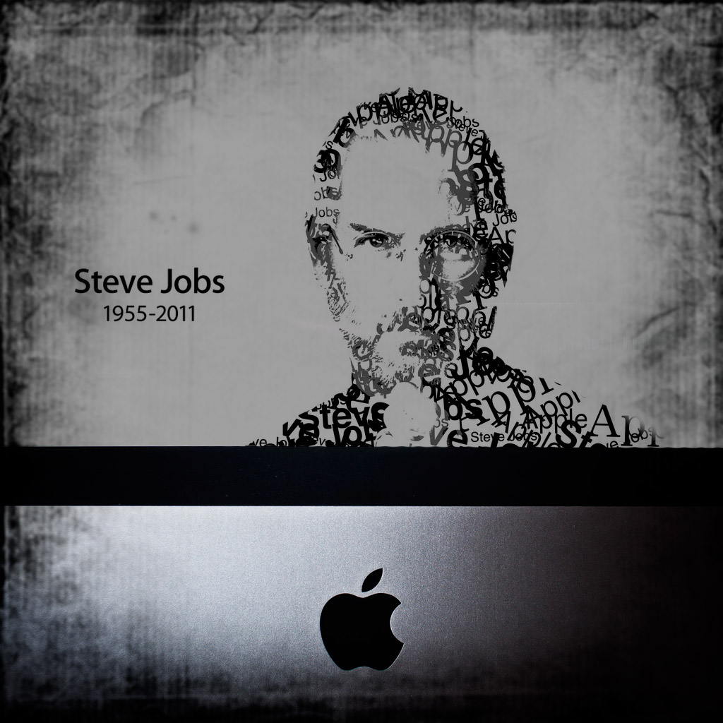 Pin Wallpaper Rip Steve Jobs Apple Hd Desktop Wallpapers 1024x1024