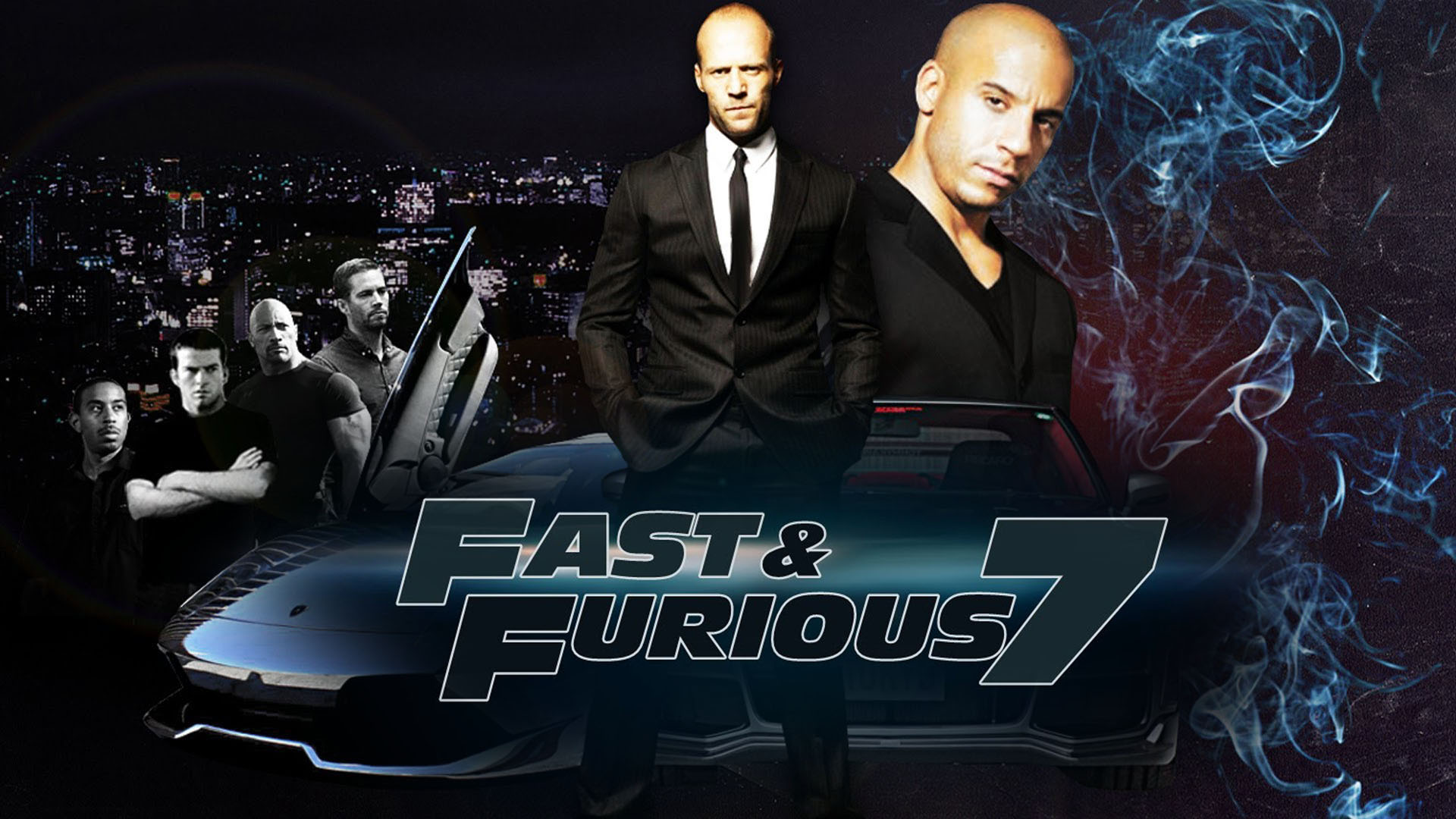 Fast And Furious 7 Wallpaper: Wallpaper Fast And Furious 7