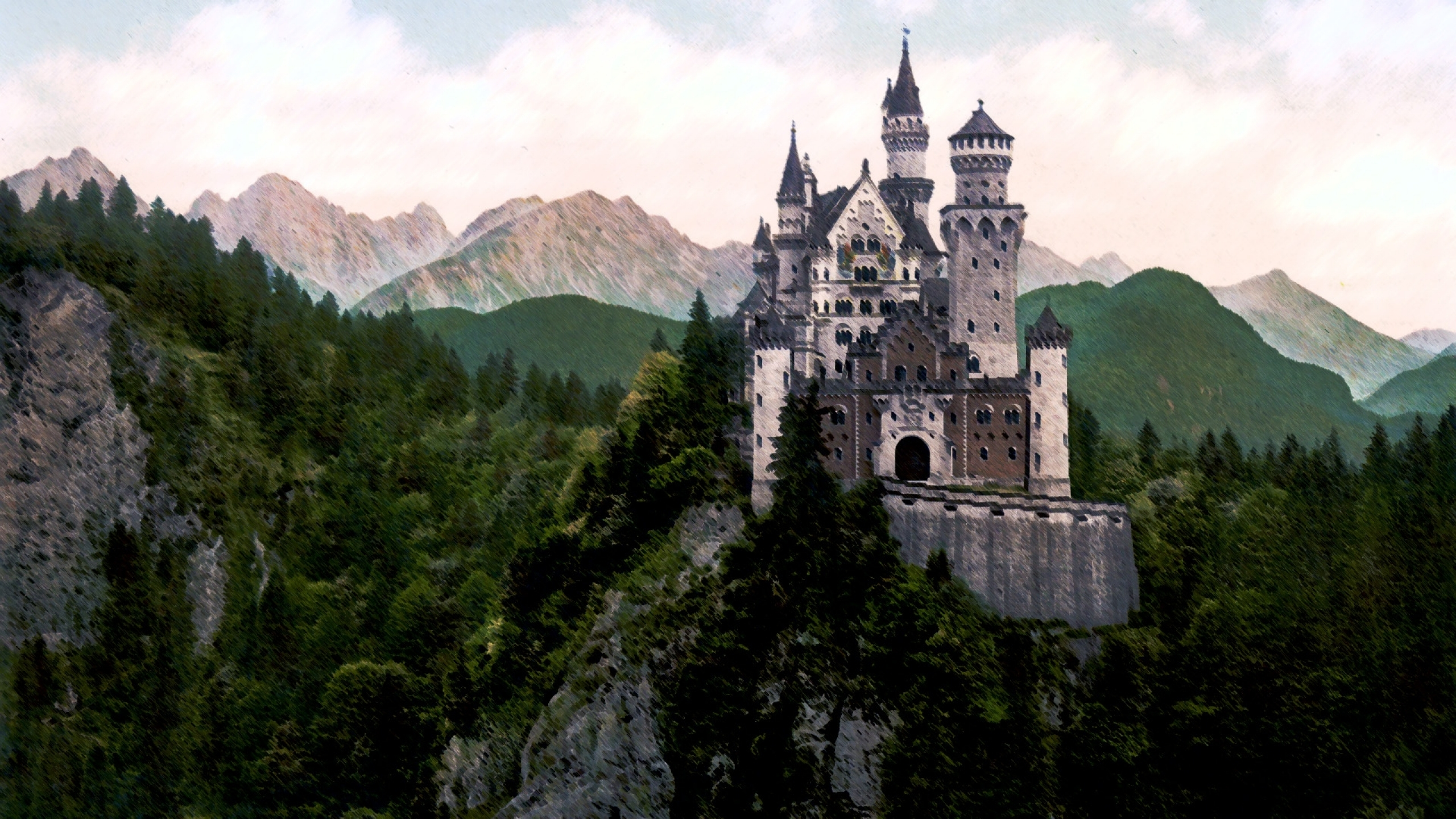 castles forest hills 1920x1080 wallpaper Miscellaneous HD Wallpaper 2560x1440