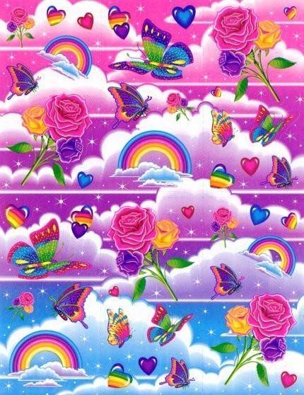 Lisa Frank Background Lisa frank colorful 430x558