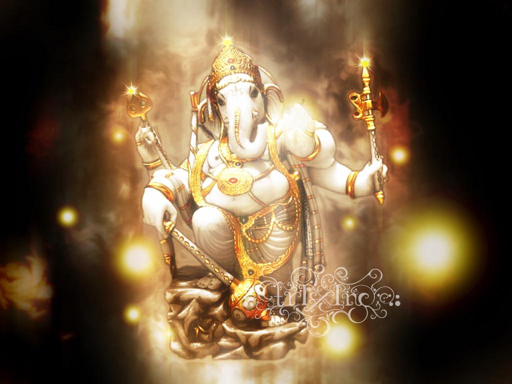 God Photos God Ganesh Beautiful Wallpapers 1024x768