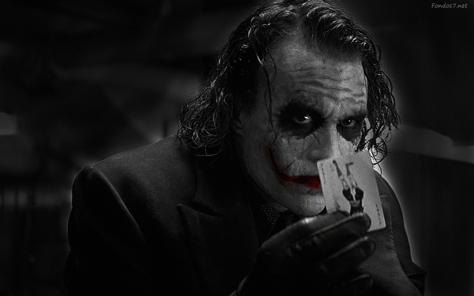 The Joker The Dark Knight Heath Ledger Movie Movies 1920x1200 fondos7 1920x1200