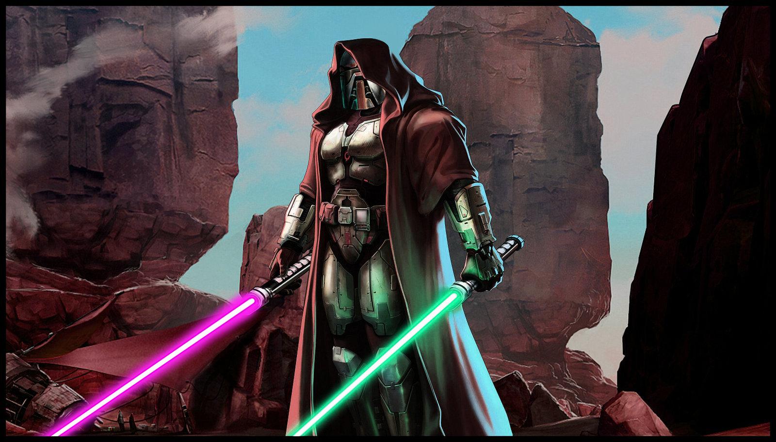 The Old Republic Wallpaper Dark Jedi By Zardis Fan Art Wallpaper X