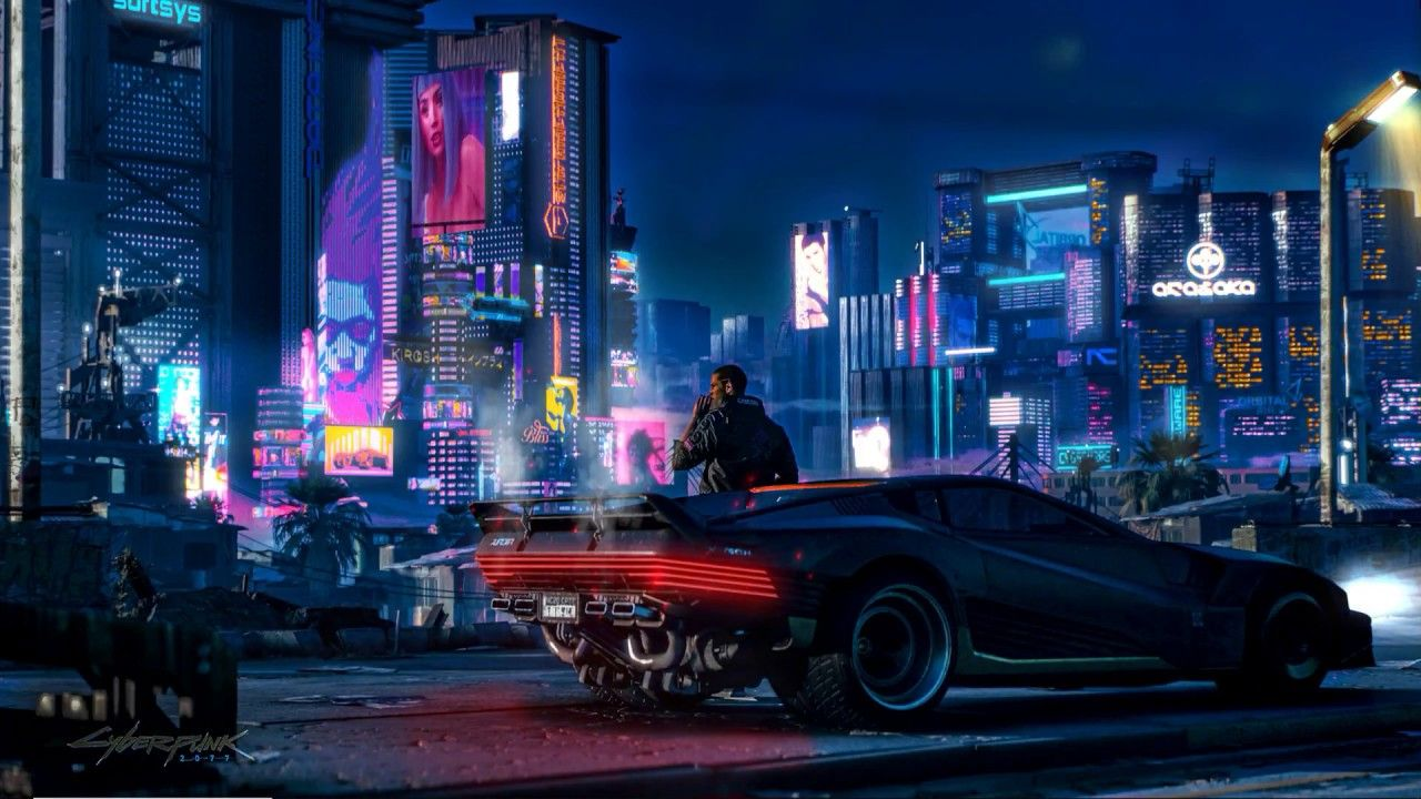 Cyberpunk 2077 Wallpapers   Top Cyberpunk 2077 Backgrounds 1280x720