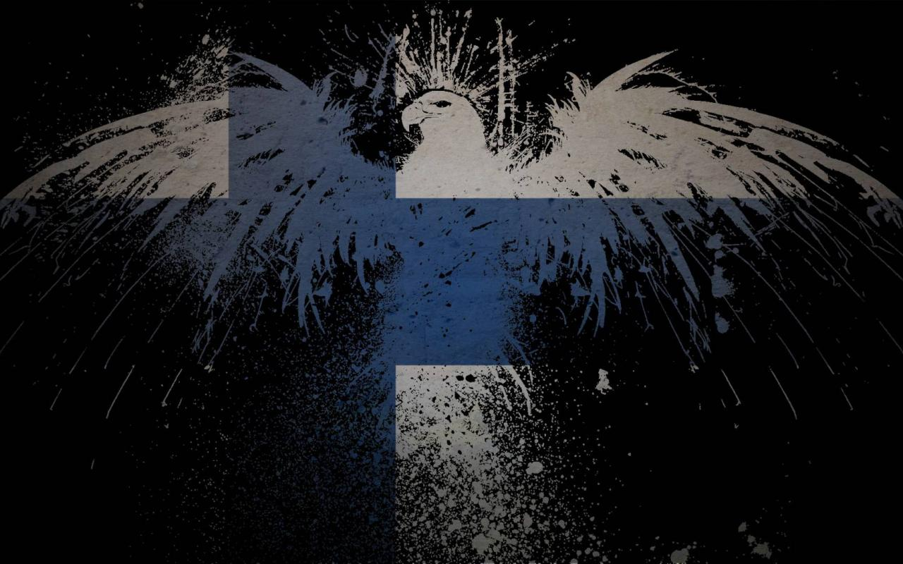 Flags finland wallpaper [2] HQ WALLPAPER   8258 1280x800