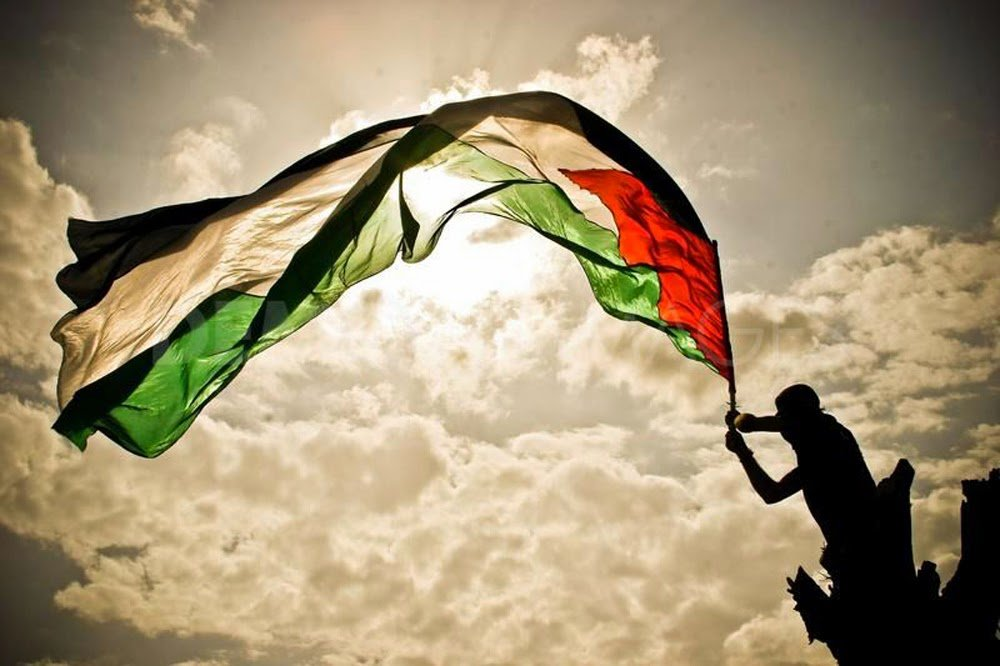 My Life Like Flag of Palestinian Territories 1000x666