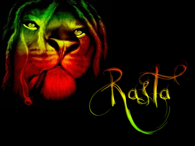 My Top Collection Rasta lion wallpaper 640x480
