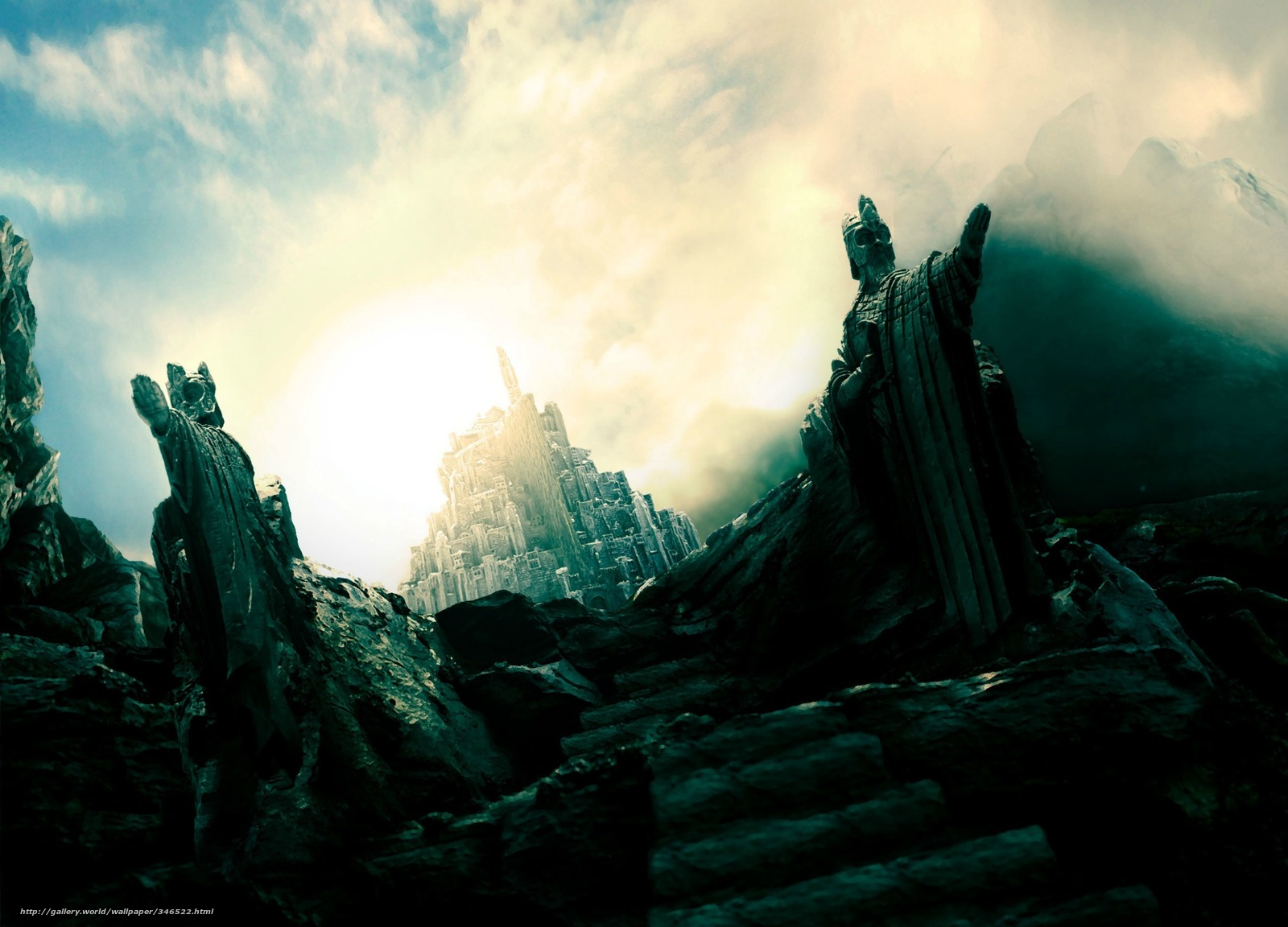 Download wallpaper film Lord of the Rings Gondor JRR Tolkien 1600x1152