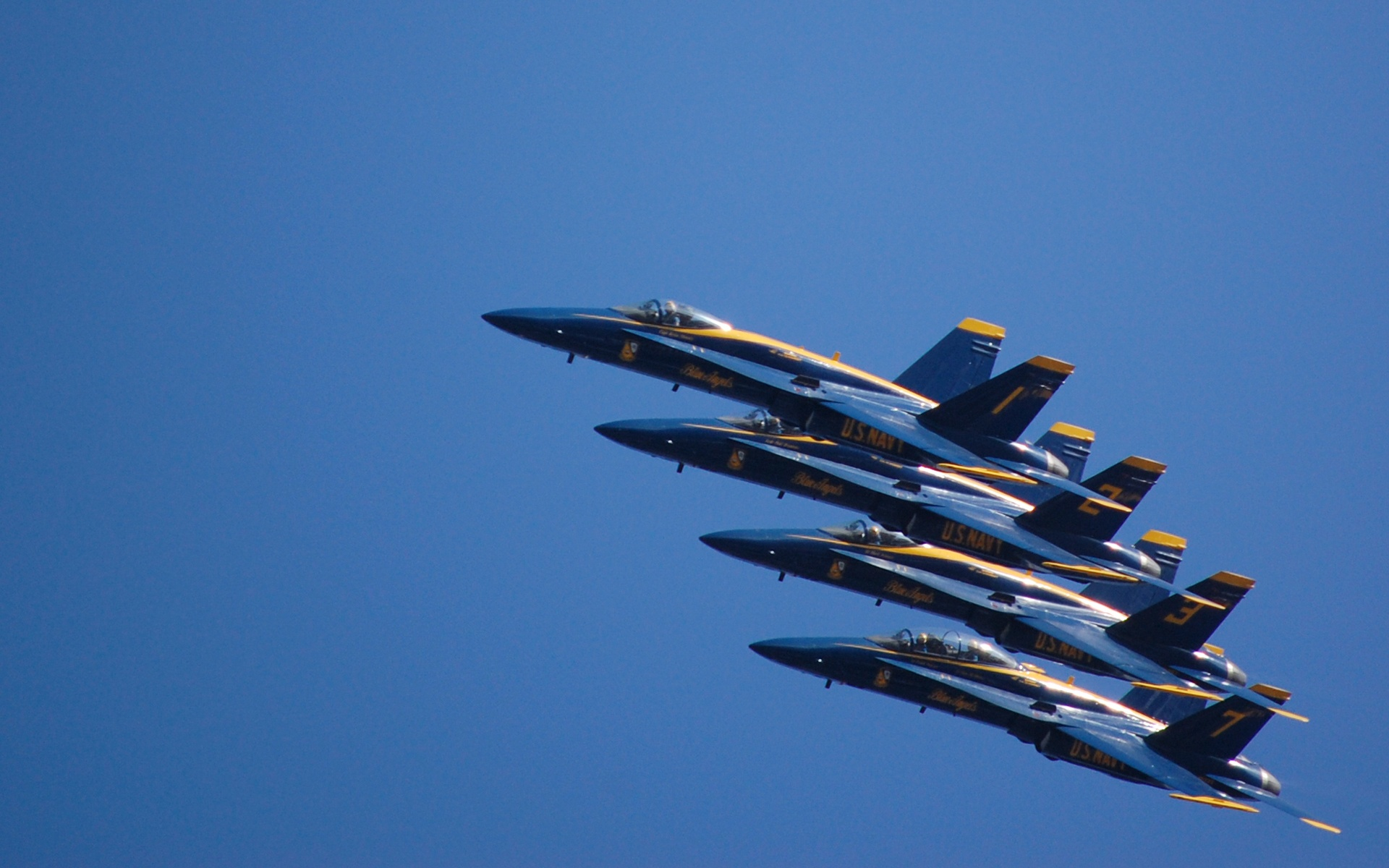 Blue Angels Wallpaper Blue angels 1920x1200