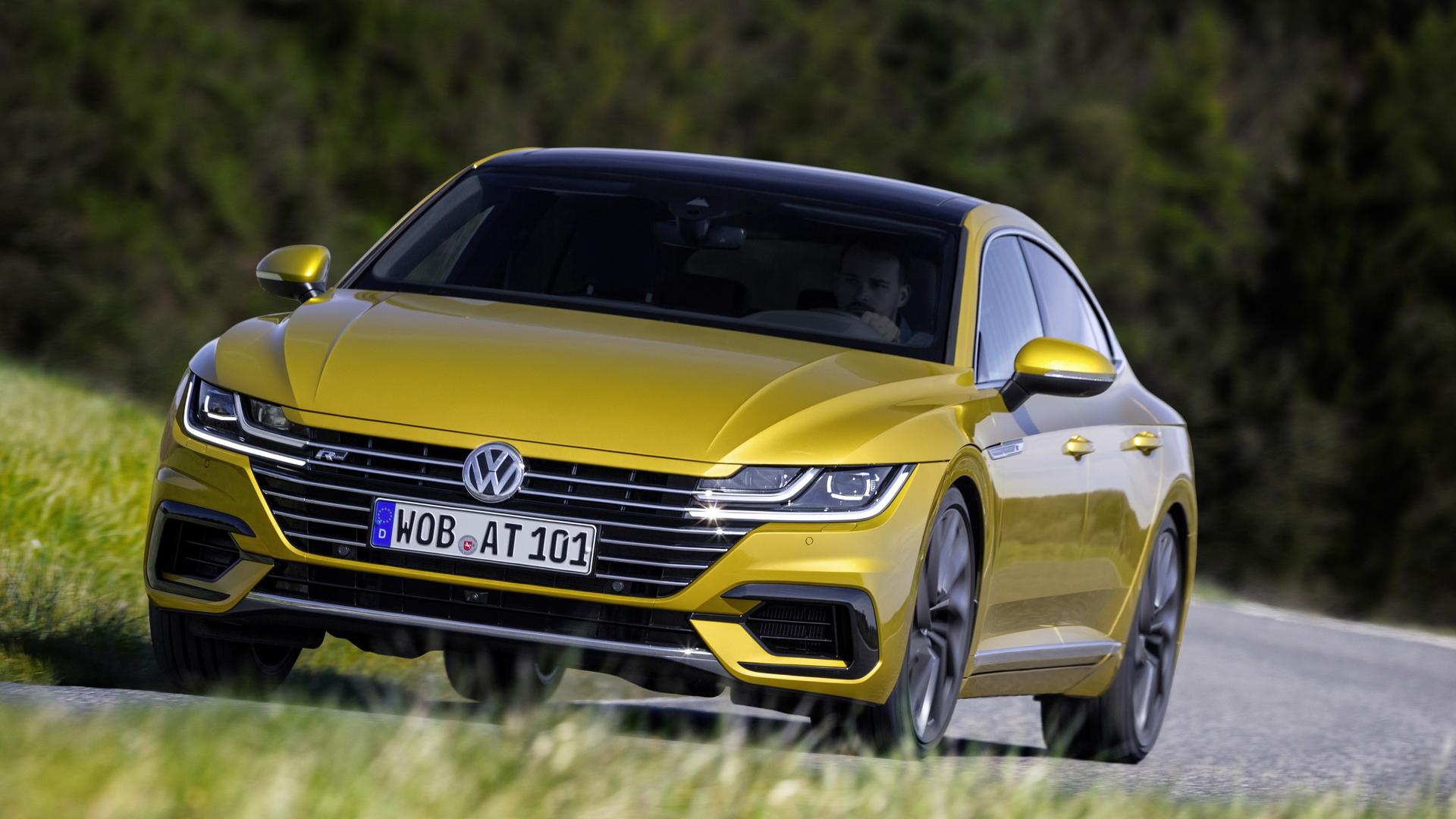 VW Arteon Six Cylinder Engine Shooting Brake Version Considered 1920x1080