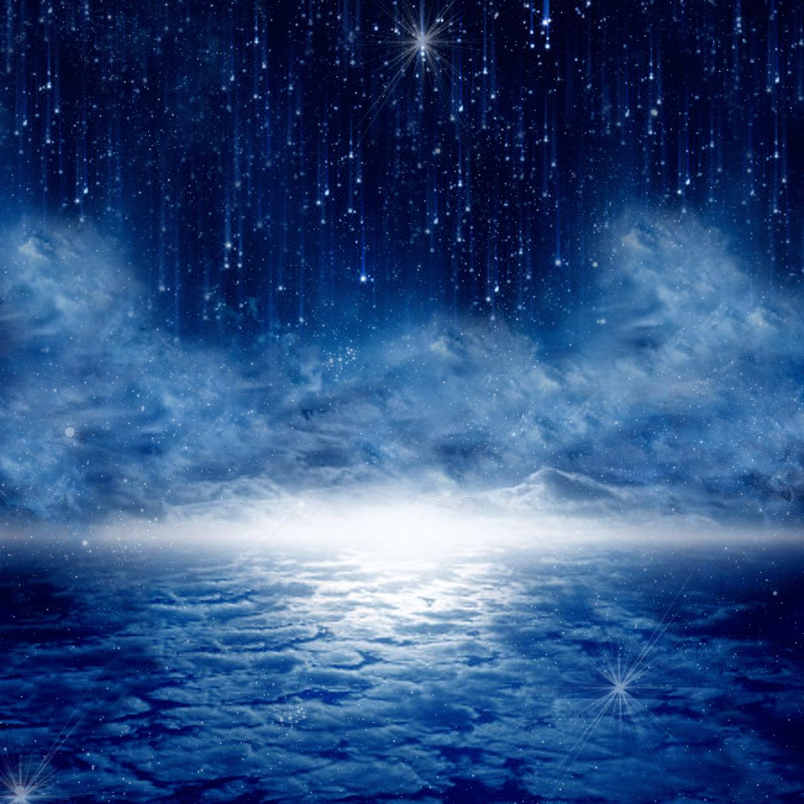 Premade Background    Starry Night Sky by KarahRobinson Art on 1600x1600