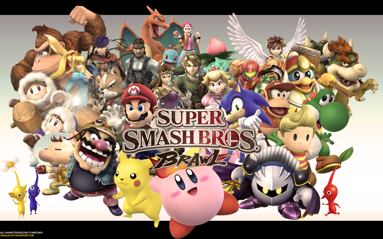 Free Download Wallpaper Super Smash Bros Wallpaper 1280x800 For