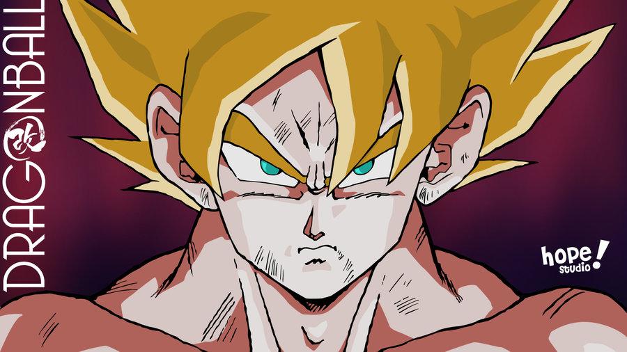 Super Saiyan Goku HD Wallpaper by gneferu 900x506