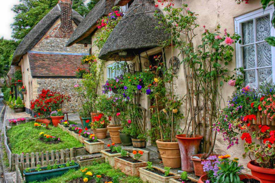 English Cottage Wallpapers 900x600