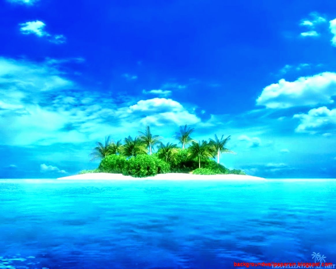 Hd Tropical Island Beach Paradise Wallpapers And Backgrounds: Beautiful Island Pictures For Wallpaper