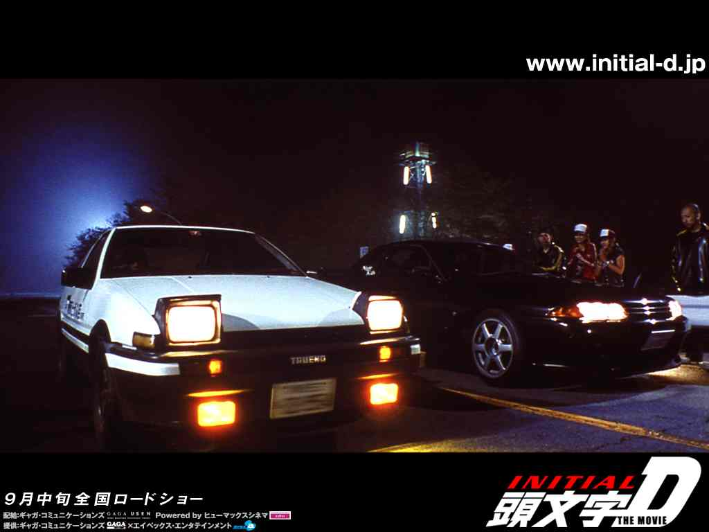 Initial D wallpaper 1024 04 in Initial D album photos and posters 1024x768