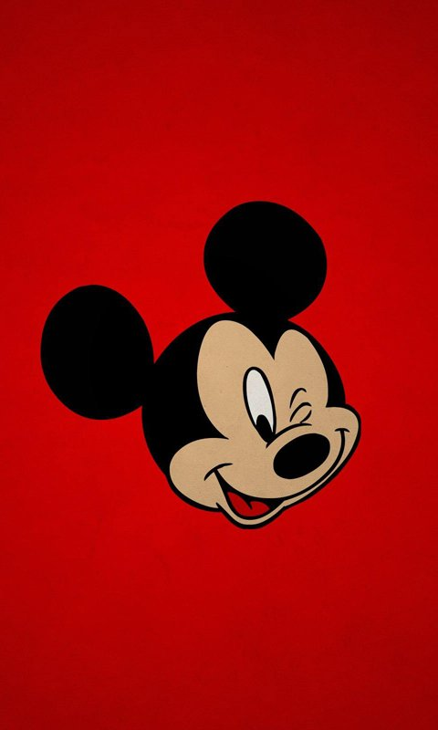 Free download image Cute Mickey Mouse PC Android iPhone and iPad Wallpapers  [480x800] for your Desktop, Mobile & Tablet | Explore 48+ Cute Mickey Mouse  iPhone Wallpaper | Mickey Mouse Wallpaper Desktop,