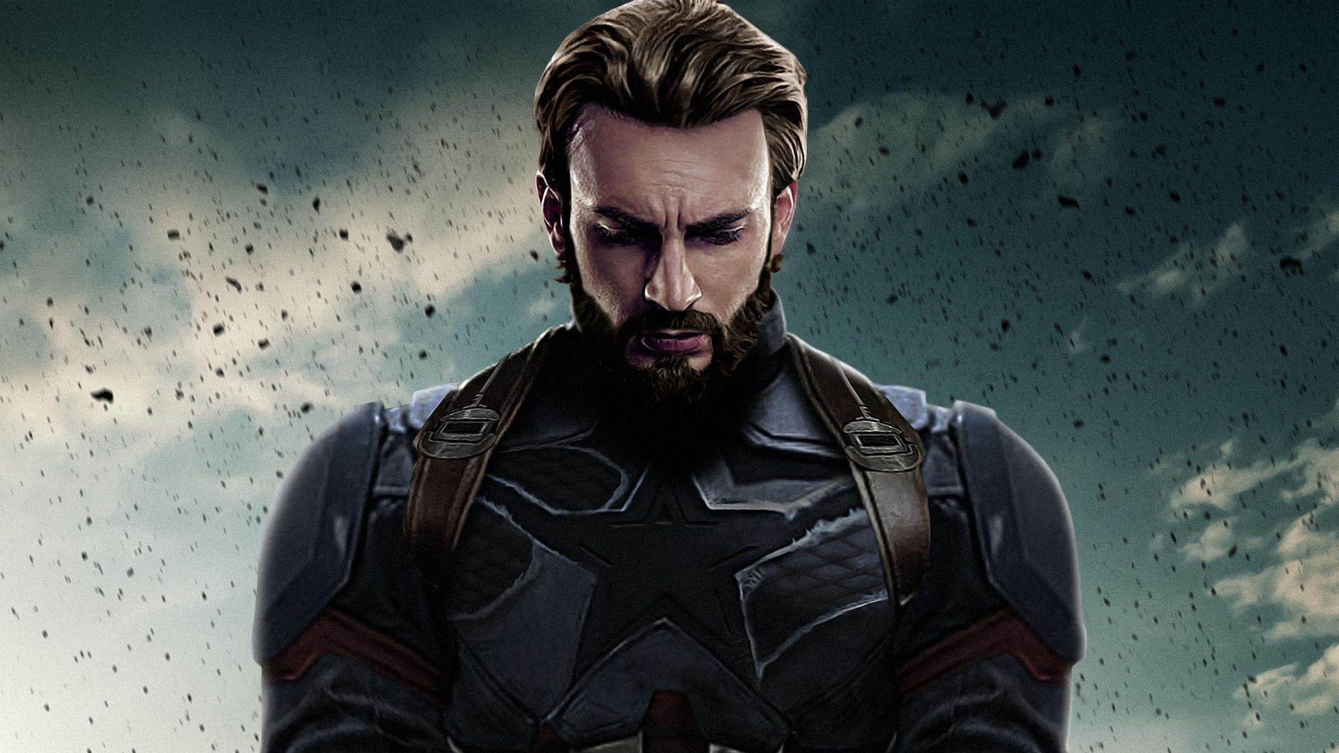 Avengers Infinity War   Captain America HD Wallpaper Background 1920x1080