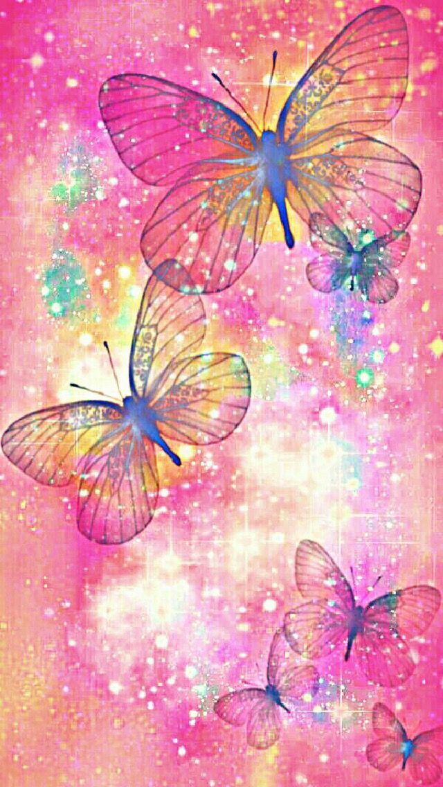 Colourful butterfly bugs in 2019 Butterfly wallpaper 640x1136