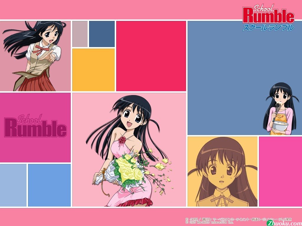 School Rumble wallpaper School Rumble picture 1024x768