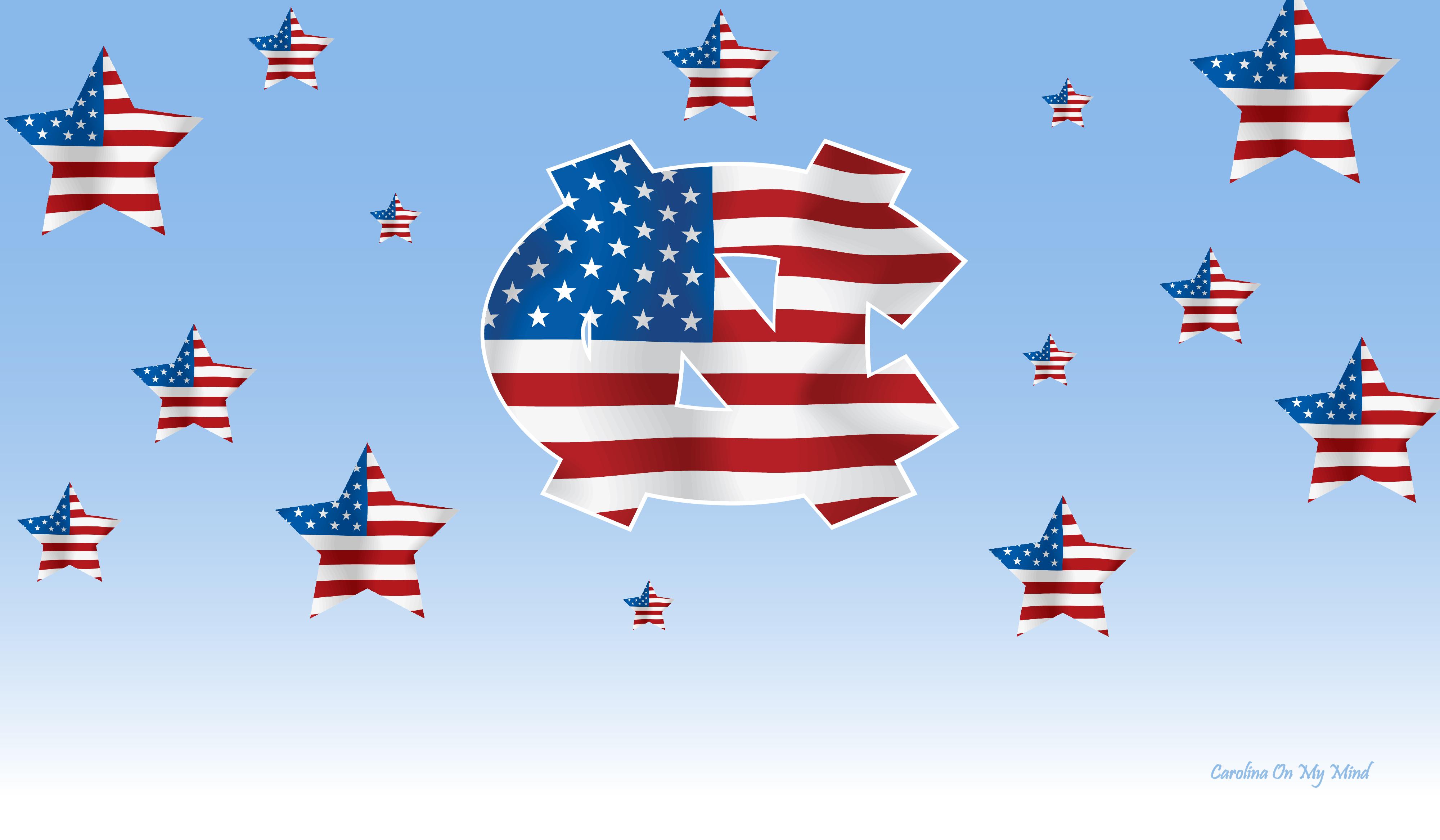 Patriotic UNC Wallpaper 1920 x 1080 4000x2333