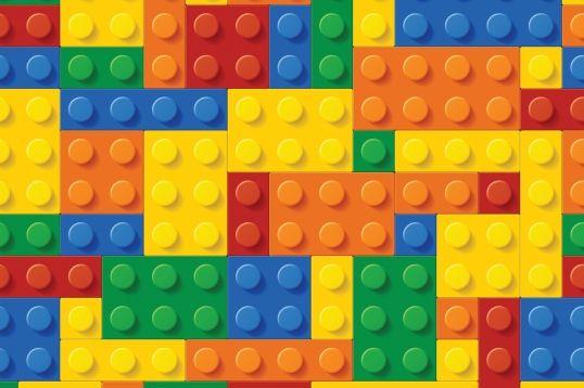 Colourful Lego Wallpaper Wall Mural MuralsWallpapercouk 538x358