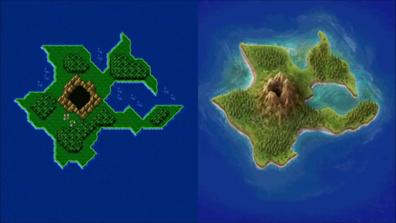 Square Enix   Final Fantasy IV 2005 GBA Port Website Background 1280x720