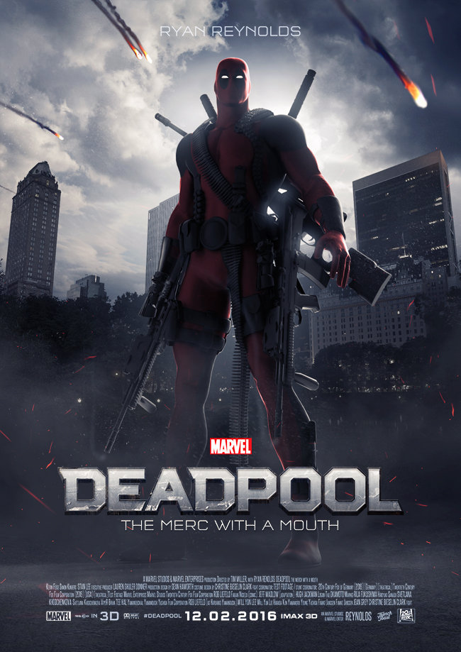 Deadpool 2016 poster Deadpool Funny Pictures NiAdd 650x919