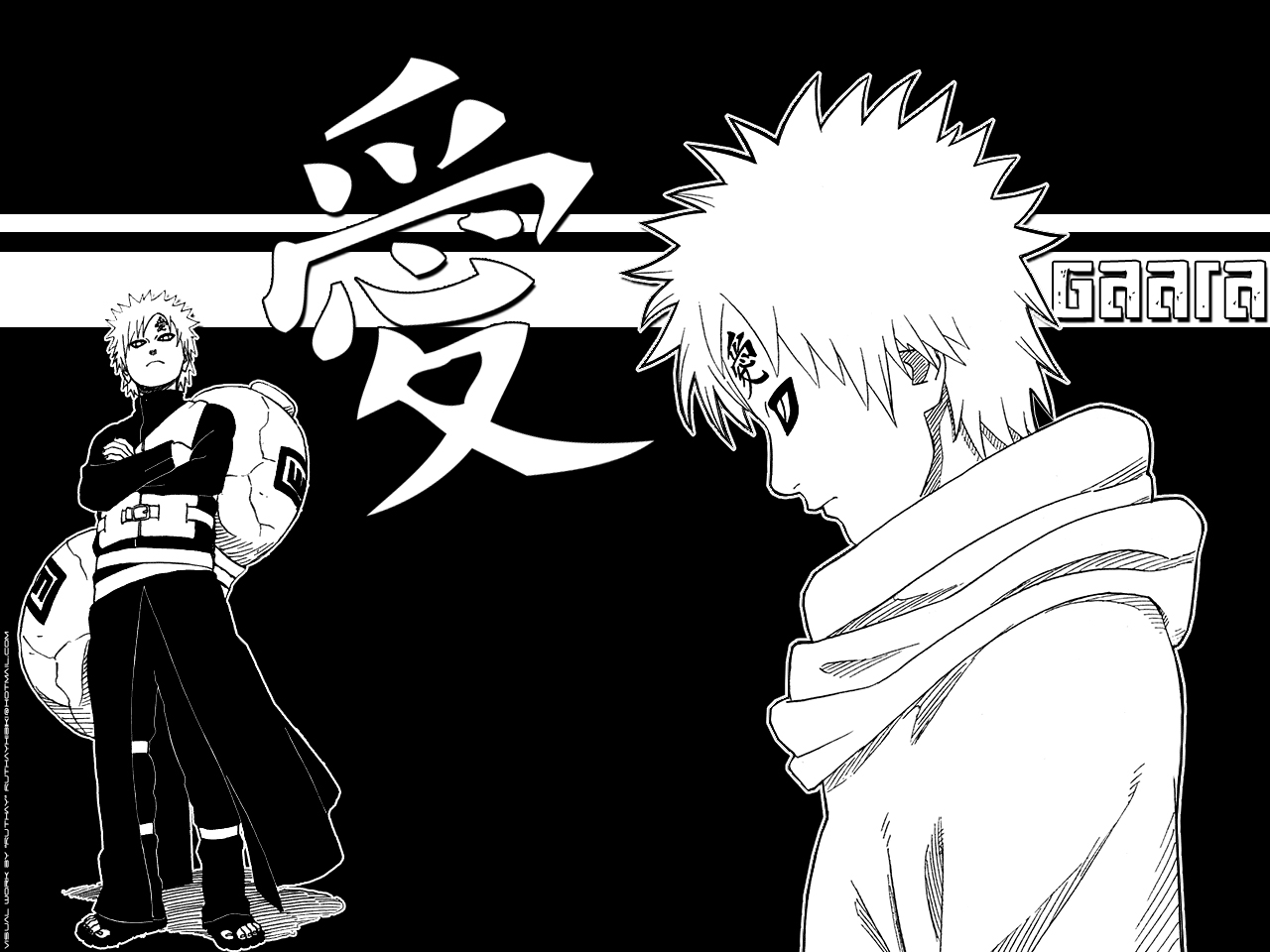 Gaara Naruto Shippuden Wallpaper 1280x960
