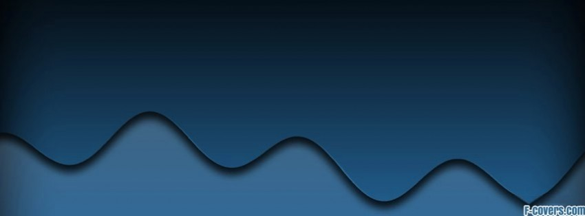 simple blue waves pattern Facebook Cover timeline photo banner for fb 850x314